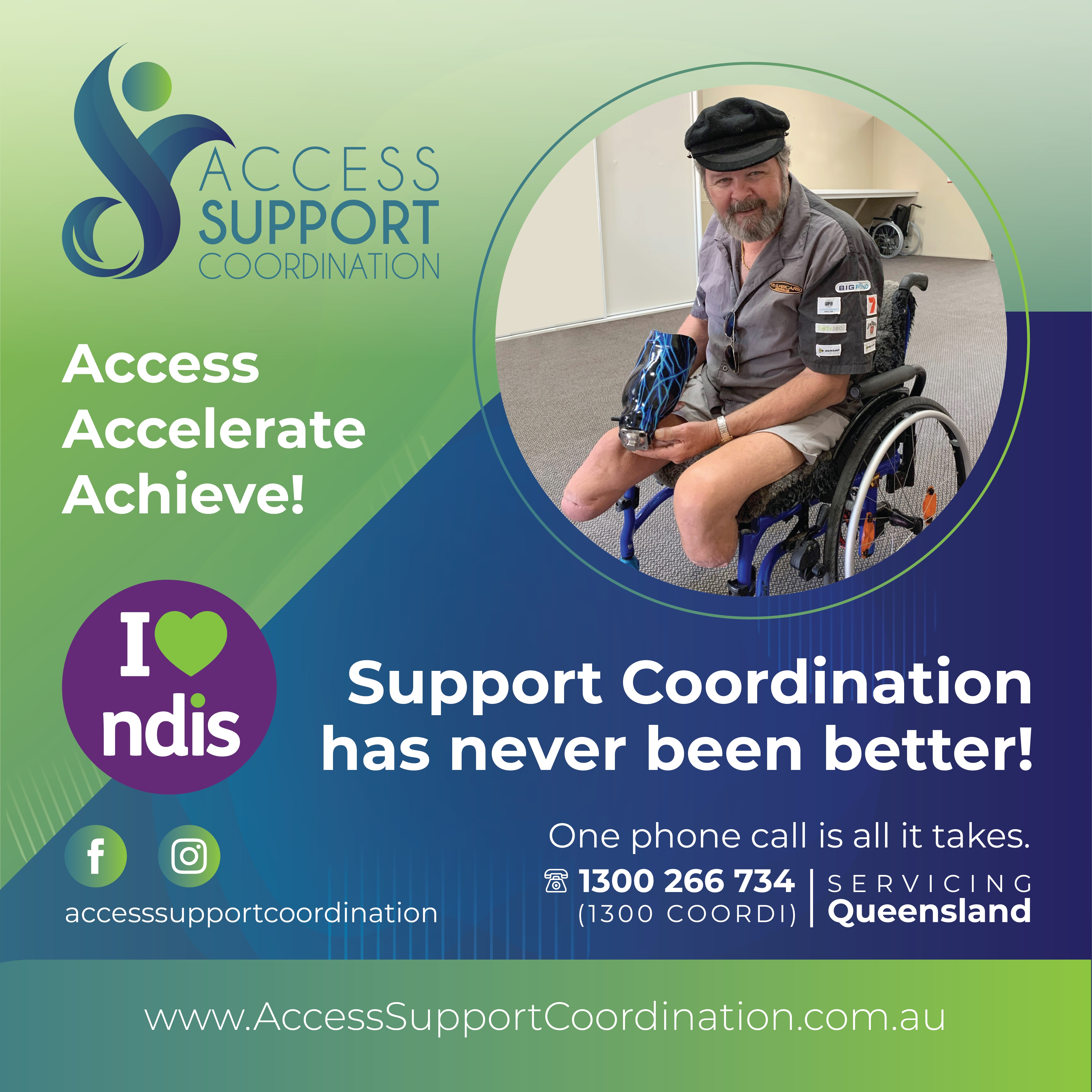 Access Support Coordination banner image - Support Coordination has never been better!